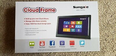 "sungale 14"" multimedia cloud frame model CPF1510+"