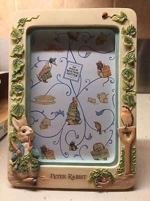 BRAND NEW Boxed The World Of Beatrix Potter Picture Photo Frame