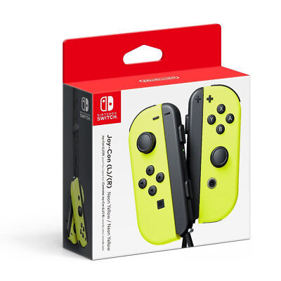 Nintendo Switch Joy-Con Controllers WIreless Left/Right  - Neon Yellow