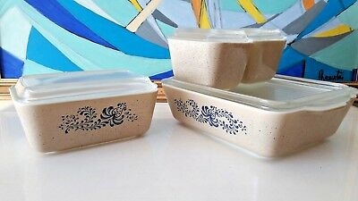 Ensemble complet Pyrex Made in USA Vintage 50'60'