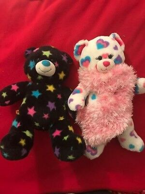 OMG CUTEST EVER!! LOT OF 2 GORGEOUS BUILD A BEARs