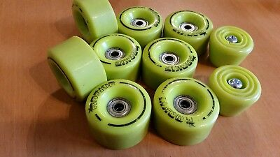 Rollerskates Wheels set of 8