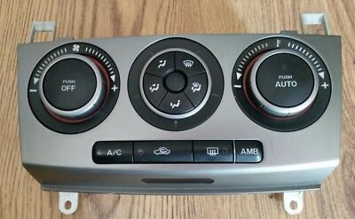 Genuine MAZDA 3 HEAT/AC CLIMATE CONTROL UNIT PANEL CONTROLLER WITH AC 2003-2009.