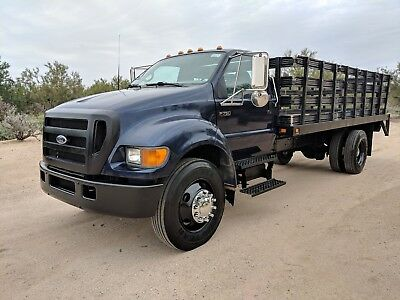 International Freightliner F650 Flat bed f-650 stake bed stakebed liftgate