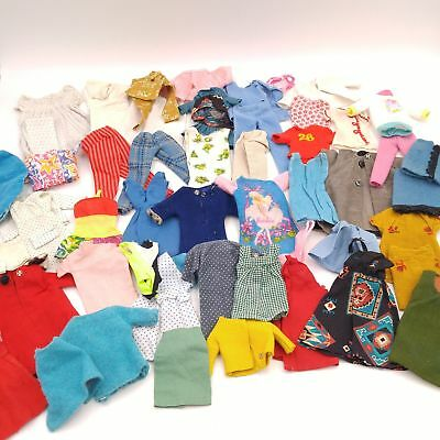 Large Lot of Vintage Barbie Doll Size Clothing