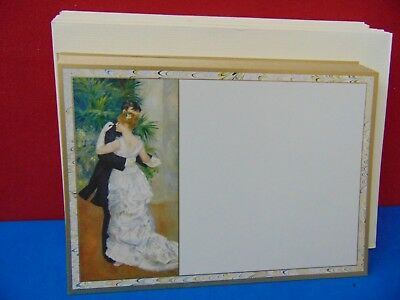 "Lot of 33 Vintage Caspari Danse A La Ville 4.5 x 6.5"" Note Cards & Envelopes"