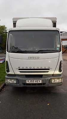 iveco eurocargo 75e17 curtainside with underslung tailift