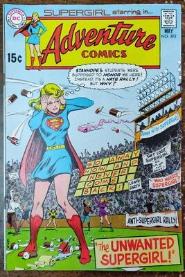 Supergirl in Adventure Comic #393 (May 1970, DC)