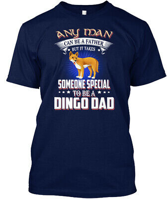 Any Man Can Be A Dingo Dad Hanes Tagless Tee T-Shirt
