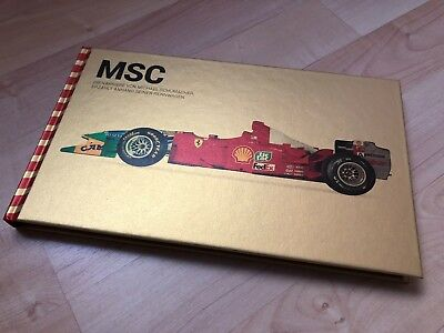 Michael Schumacher MSC Private Collection Book Buch Limitiert Limited GOLD *RAR*