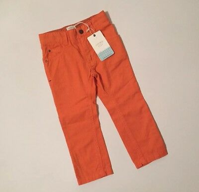 Carrement Beau Boys Orange Trousers 2 Years