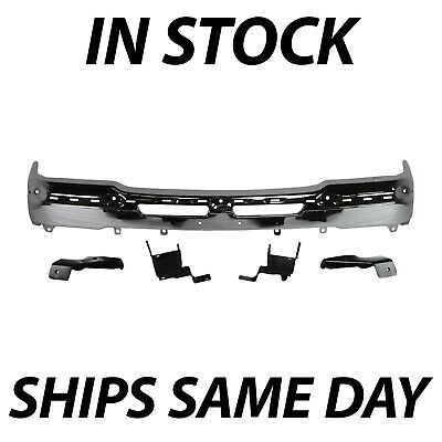NEW Chrome - Front Bumper for 2003-2007 Chevy Silverado 1500 2500 with Brackets