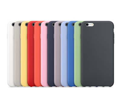 Genuine Official Soft Silicone Case Cover for Apple iPhone 8 7 Plus 6 6S Lot AZ