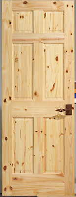 Knotty Pine 3 Panel Interior Door, Slab or Prehung. MANY SIZES