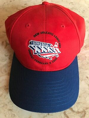 PATRIOTS VS RAMS SUPER BOWL XXXVI 36 HAT RARE Vintage NWOT -  15.00 ... 1843df33f