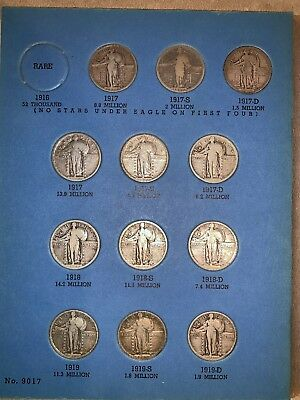 Liberty Standing Quarter Collection