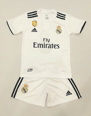 Real Madrid Home Trikot Kinder Set, Kroos , 2018/19, Nr.8, Neu