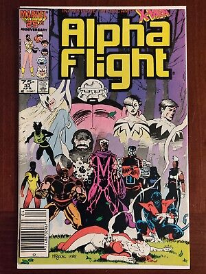 Marvel Comics Alpha Flight #33 1st Appearance Lady Deathstrike Comic Book