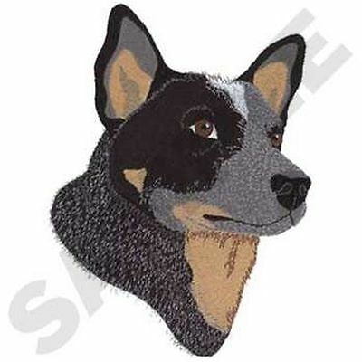 "Australian Cattle Dog, Embroidered Patch 5.9"" x 8"""