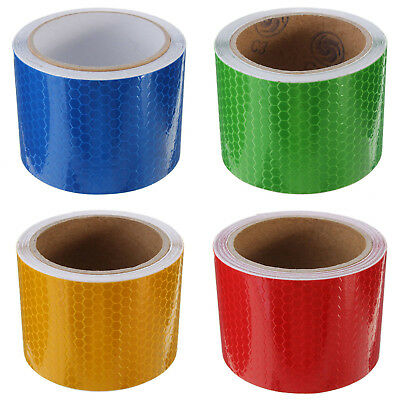 1X(5cm × 3m Tape Warning Tape Reflector Tape Safety Tape N3L3)