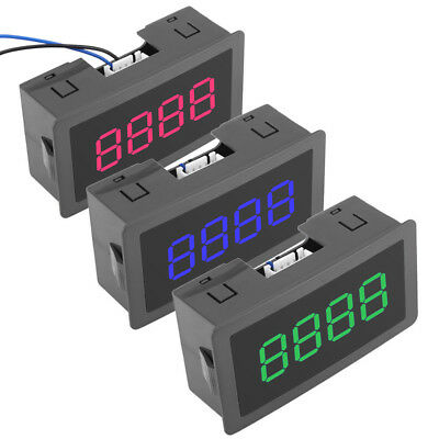 4 Digital Led With Hall Sensor Speed Meter Electronic Proximity Switch Counter