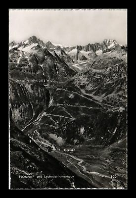 Dr Jim Stamps Labeled Mountain View Real Photo Postcard Rppc Switzerland