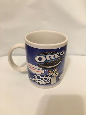 OREO Cows Coffee Tea MUG Vintage OREO's Collectible Cookie Cup