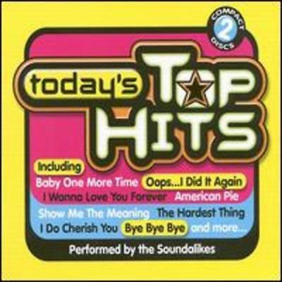 Today's Top Hits [Single CD] by Various Artists: New