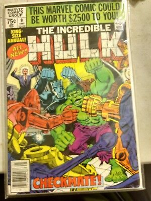 1980 Marvel The Incredible Hulk #9 Annual