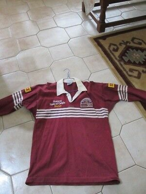 Old Queensland Tooheys State Of Origin Jersey