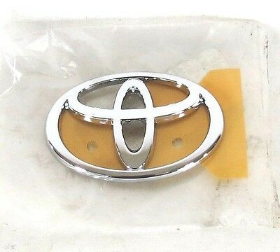 TOYOTA HIGHLANDER EMBLEM 01-07 REAR LIFTGATE NEW OEM CHROME BADGE sign symbol