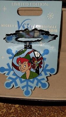 Disney Pin Mickey's Very Merry Christmas Party 2018 Peter Pan ~ Tinkerbell