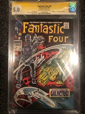 fantastic four #74 cgc SS Stan Lee Signed