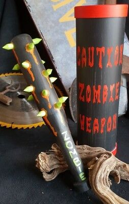 Zombie Tamer Combat Bat Weapon Apocalypse Survival Black Personal Protection
