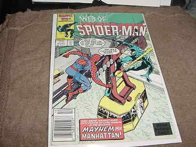 STAN LEE signed AUTO 1986 web o SPIDER MAN comic book  MARVEL authentic hologram
