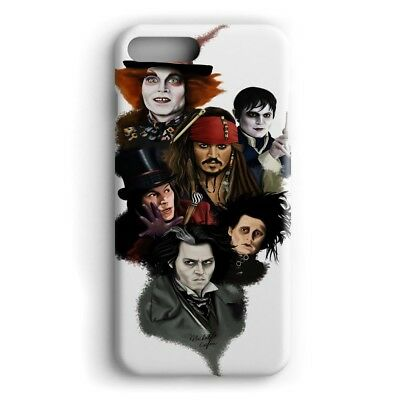 Johnny Depp Faces Characters Phone Case For Iphone X Ipod Samsung