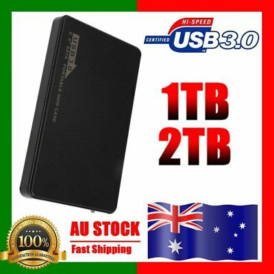 USB3.0 1TB/2TB External Hard Drives Portable Desktop Mobile Hard Disk Lot H5