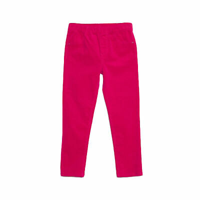Bossini Girls Chill Solid Corduroy Leggings Kids Pants,Size 4t-16, Pink OR Blue