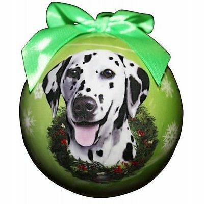 Dalmatian Shatterproof Ball Dog Christmas Ornament