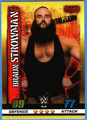 Topps Slam Attax WWE 10th Edition Karte Nr.88 Braun Strowman