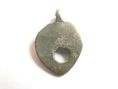 IRON AGE Hallstatt Culture ANCIENT Celtic Small Billon EARRING > 700 BC