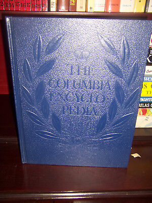 The Columbia Encyclopedia- 2nd edition1950 (New York) 5 Volumes A-Z - Adult