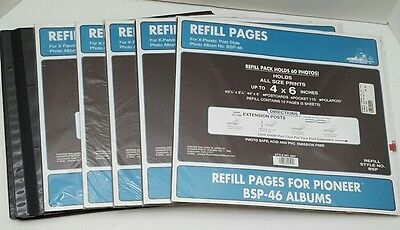 Bulk Pack Pioneer BSP-46 Refill Pages 40 Sheets 80 Pages NIP