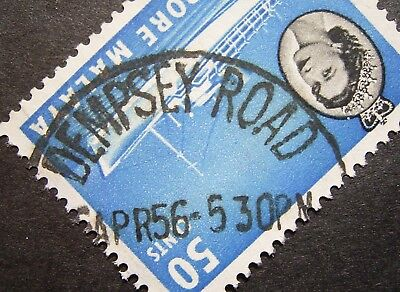 Singapore Malaya - Used 50c Stamp, DEMPSEY ROAD Post Mark, Great Stamp