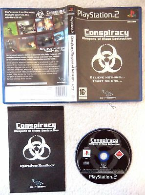 22122 Conspiracy Weapons Of Mass Destruction - Sony Playstation 2 (2005) SLES 53
