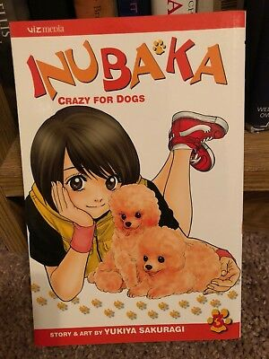 INUBAKA: CRAZY FOR DOGS  Volume 3 Yukiya Sakuragi 2007 English Edition