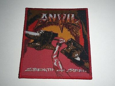 Anvil Strength Of Steel Woven Patch