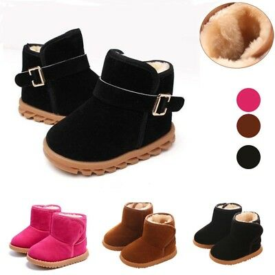 Winter Infant Baby Toddler Warm Snow Boots Kids Boys Girls Chelsea Martin Shoes