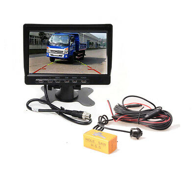 Car Front Side Rear View Backup Camera Mirror or Non-mirror Parking Monitor Kit