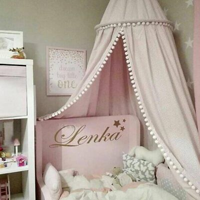 Pink Canopy Bed Netting Mosquito Bedding Net Baby Kids Reading Play Tents B